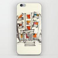 Japanese building iPhone & iPod Skin