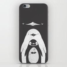 Penguinception iPhone & iPod Skin