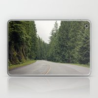 lonely road. Laptop & iPad Skin