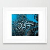 Bambooblue Framed Art Print