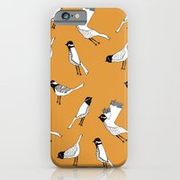 Bird Print - Orange iPhone 6 Slim Case