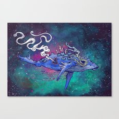 The Last Whale Canvas Print