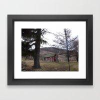 the chicken coop Framed Art Print