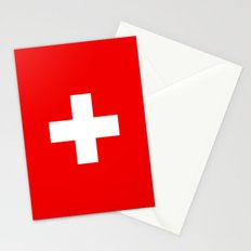 Flag of Switzerland - Authentic 2:3 scale version Stationery Cards