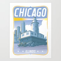 Chicago! Art Print