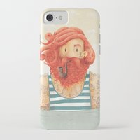 hair iPhone & iPod Cases featuring Octopus by Seaside Spirit