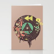 Stationery Cards featuring Subliminal by Hector Mansilla
