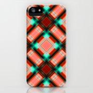 Square Pattern Serie 1 O… iPhone (5, 5s) Slim Case
