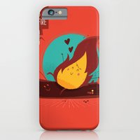 :::Love Is On The Fire::… iPhone 6 Slim Case
