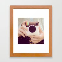 Instagram  Framed Art Print