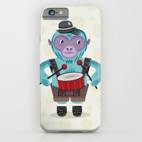 The Monkey Drummer iPhone 6 Slim Case