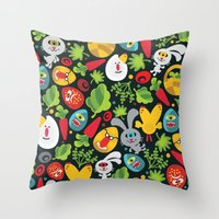 Ugly Easter. Throw Pillow