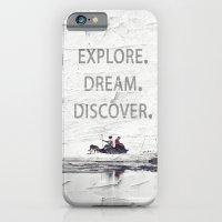 Explore.Dream.Discover. iPhone 6 Slim Case