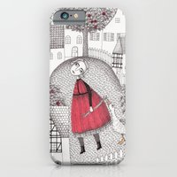 iPhone & iPod Case featuring The Old Village by Judith Clay