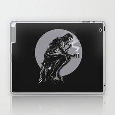 The thinker coffee Laptop & iPad Skin