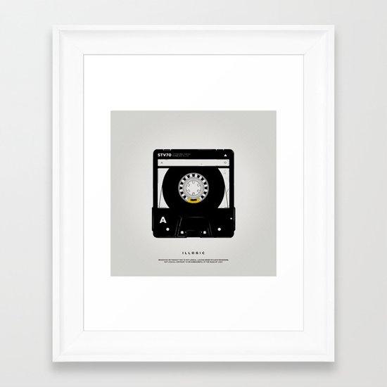 STV - Illogic A02 Framed Art Print