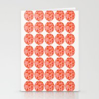 Tri Dots 2 Stationery Cards