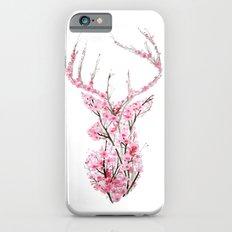 Cherry Blossom Deer iPhone 6s Slim Case