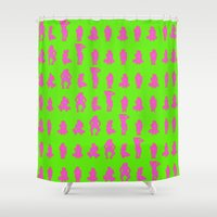 Dip & Come Up - Lime Jui… Shower Curtain