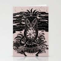Tiki Lunch Stationery Cards