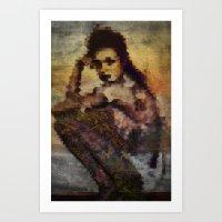 Just sitting Art Print