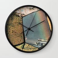 Hole In The Rainbow Wall Clock