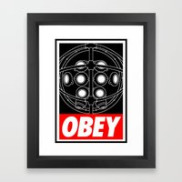 OBEY - Big Daddy Framed Art Print
