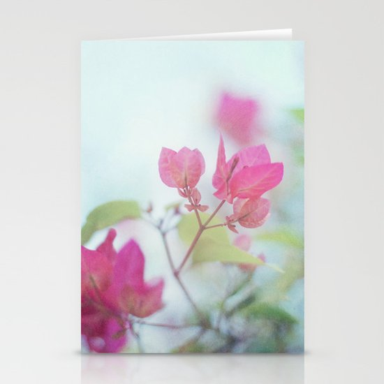 A little pink Stationery Card