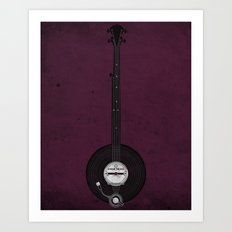 Banjo Beats Art Print