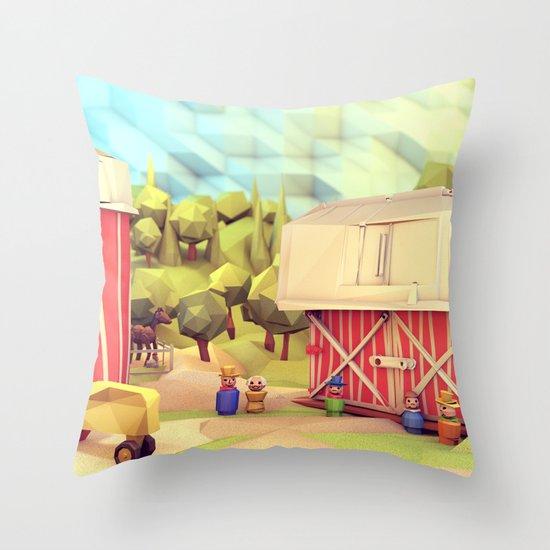 Fisher-Price Farm Throw Pillow