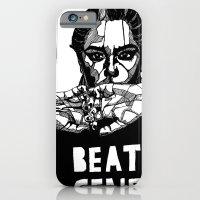 B&W Fashion Illustration - Beaten Generation iPhone 6 Slim Case