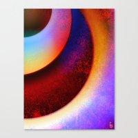 Orbital Canvas Print