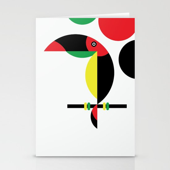 Tucan Stationery Card