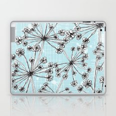 Contemporary Cow Parsley  Laptop & iPad Skin