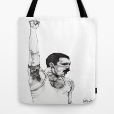 We Will Rock You Tote Bag