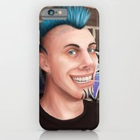 iPhone & iPod Case featuring Big Grin by SL Scheibe