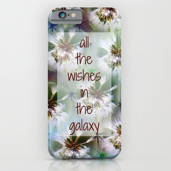 COLLAGE LOVE: All the Wishes in the Galaxy iPhone & iPod Case