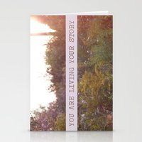 You Are Living Your Stor… Stationery Cards
