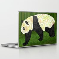 panda Laptop & iPad Skins featuring Panda by Ben Geiger