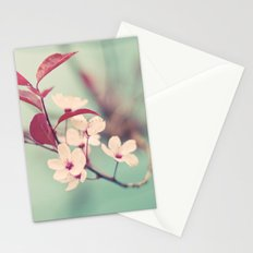 Dream in mint Stationery Cards