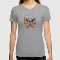 Chapel Of The Goddess Or… Womens Fitted Tee Tri-Grey SMALL