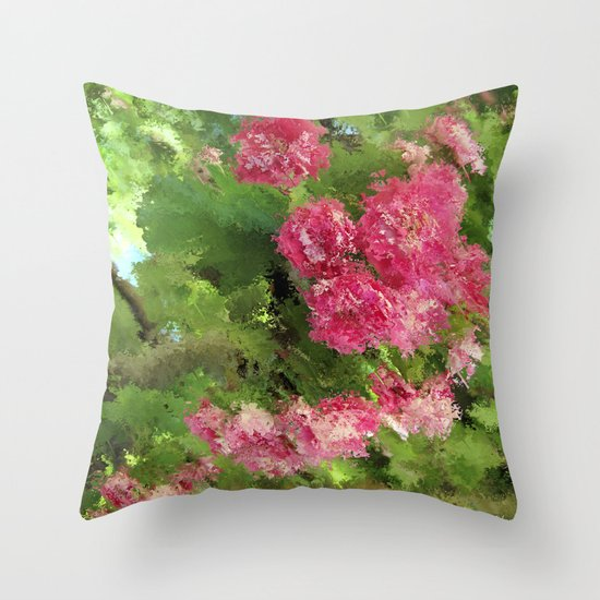 Romance á la Provence Throw Pillow