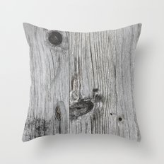 Wood Throw Pillow