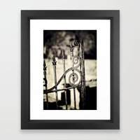 Rusted Whimsy Framed Art Print