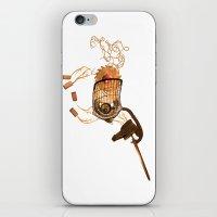 Steampunk Unicorn iPhone & iPod Skin