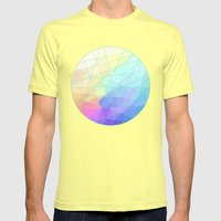 Spectrum Mens Fitted Tee Lemon SMALL