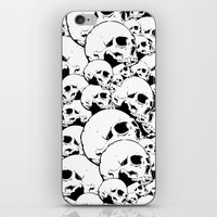 Skull Pile 2 iPhone & iPod Skin