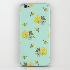small vintage roses iPhone & iPod Skin