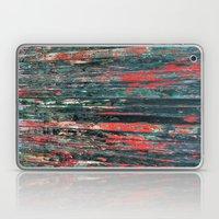Red Splinters Laptop & iPad Skin