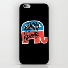 This Machine Elects Fascists iPhone & iPod Skin